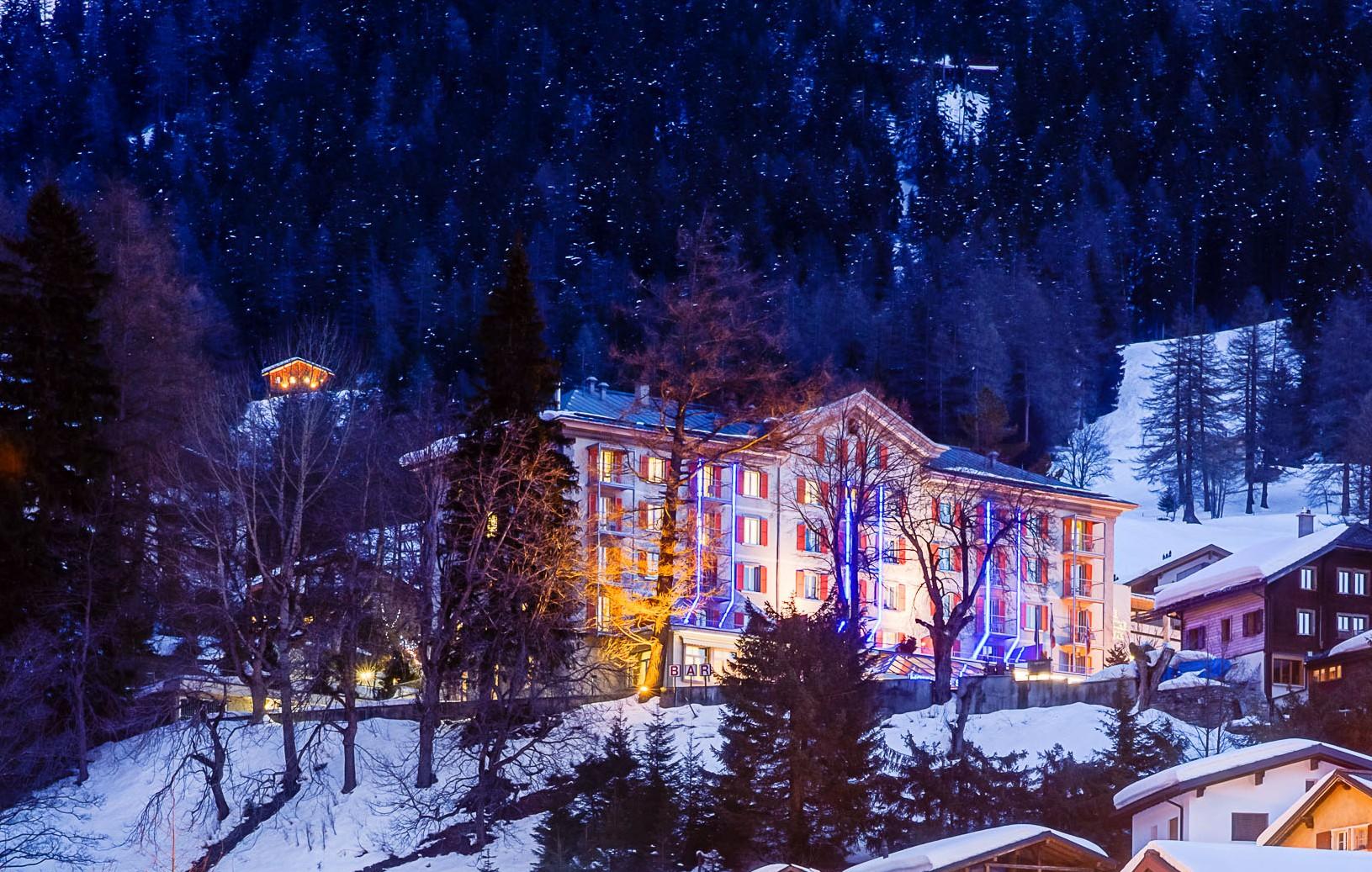 exterieur hotel hiver 2